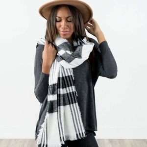 Sundance Plaid Scarf